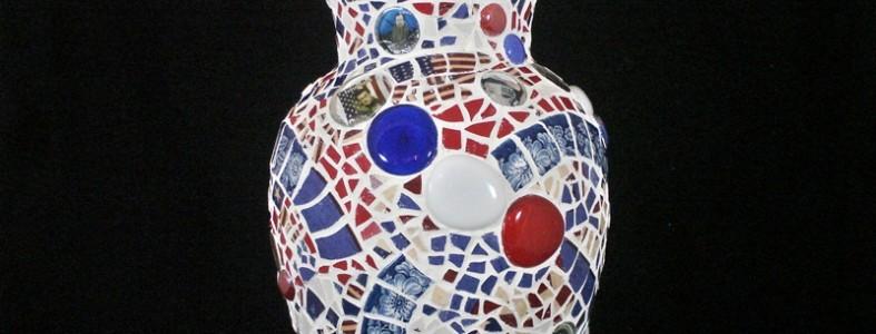 Stephen Colbert vase